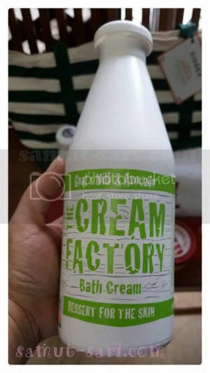 The Cream Factory Goat's Milk & Avocado Bath Cream