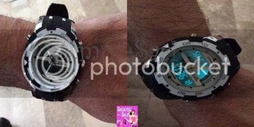 Tmart-Sport-Men-Big-Head-Dual-Movements-Waterproof-Digital-Quartz-Wrist-Watch-White