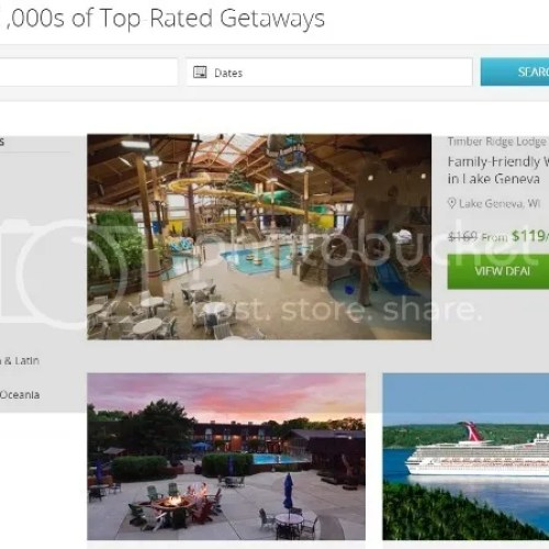 Groupon Coupons Getaways