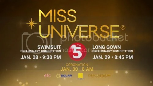 TV5 to Air Exclusive Coverage of the 65th Miss Universe Swimsuit and Evening Gown Competition