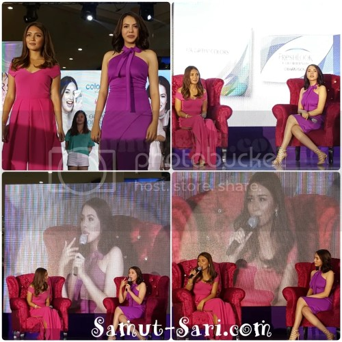 Freshlook & Air Optix Colors Kathryn Bernardo and Julia Montes