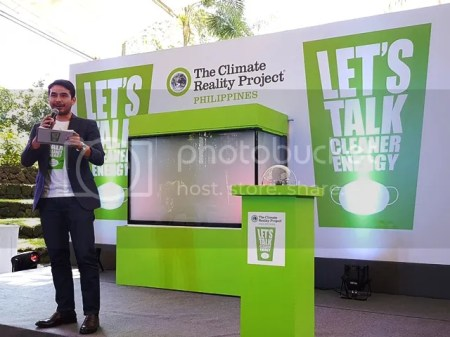 The Climate Reality Project Philippines Let's Talk Cleaner Energy Campaign Atom Araullo