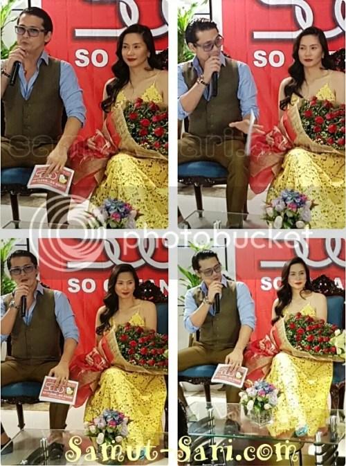 Hotel Sogo Brand Ambassadors Robin and Mariel Padilla