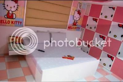Hotel Sogo Hello Kitty Themed Room