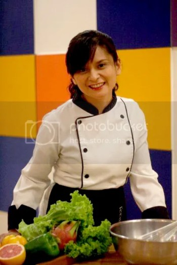 Chef Mom Instructor Len Santos-Ding