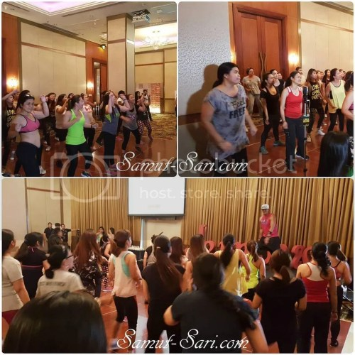 Jeunesse Anion Zumba at Marriott Hotel Manila