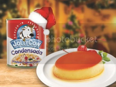 Pinoy Leche Flan with Jolly Cow Condensada