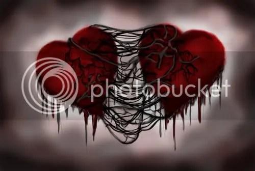 tied hearts