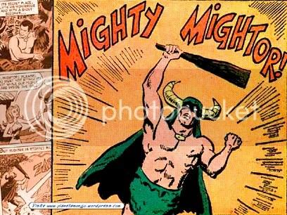 The Mighty Mightor - Clique para fazer o download deste wallpaper