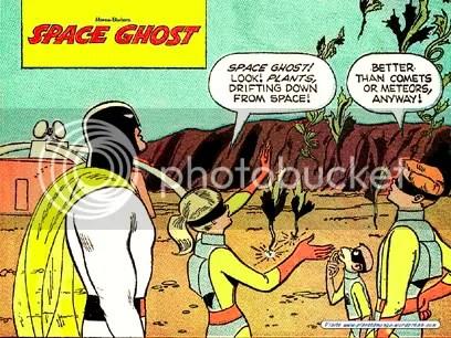 Space Ghost, por Dan Spiegel - Clique para baixar este wallpaper