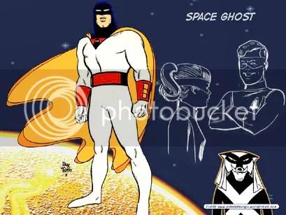 Space Ghost, de Alex Toth - Clique para baixar este wallpaper