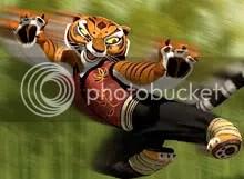 Angelina Jolie emprestou sua voz para Master Tigress, do filme Kung Fu Panda