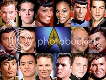 Os atores de Star Trek - Clique para baixar este wallpaper
