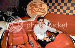 Hirsch ao volante do Mach 5 - Clique para ampliar