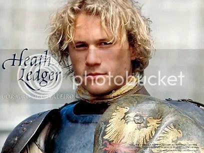 Heath Ledger em Coração de Cavaleiro - CLIQUE PARA FAZER O DOWNLOAD DESTE WALLPAPER