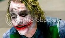 Heath Ledger como o Coringa - Clique para ampliar