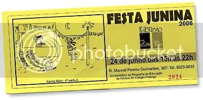 Convite da Festa Junina