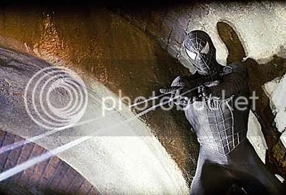 O Homem Aranha num momento dark