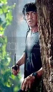 John Rambo strikes back!
