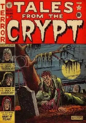 Image result for graham ingels tales from the crypt.