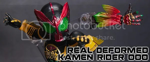 Review: Real Deformed Kamen Rider OOO | highm0bility EX