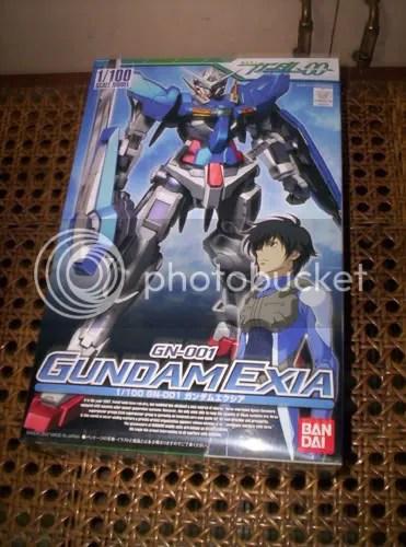 Gundam Exia Box