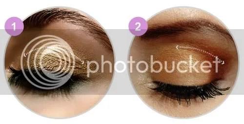 Maquiagem dourada - Dieta e Dicas