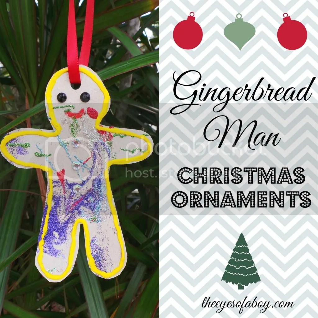 Gingerbread man ornament craft - This Post Contains Affiliate Links To Help You Find The Products We Used To Crate This Craft