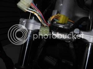 Headlight wiring Dominator headlight help PIC heavy