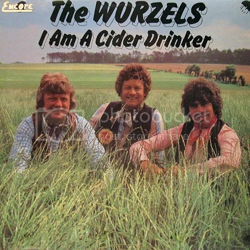 Image result for wurzels cider drinker