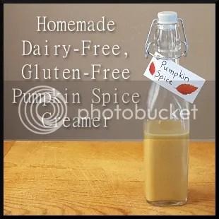 Homemade Dairy-Free, Gluten-Free Pumpkin Spice Creamer