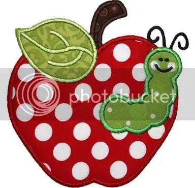 apple worm photo: Apple with Worm applewormEBfree.jpg