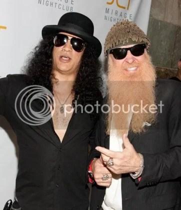 Slash and Billy Gibbons