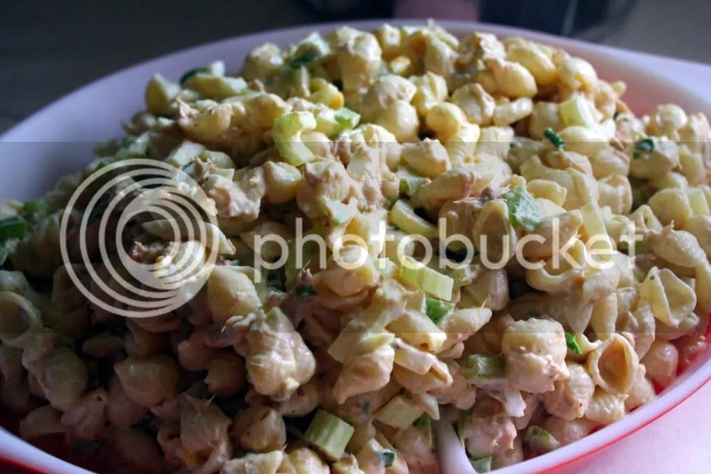 tuna noodle mac salad
