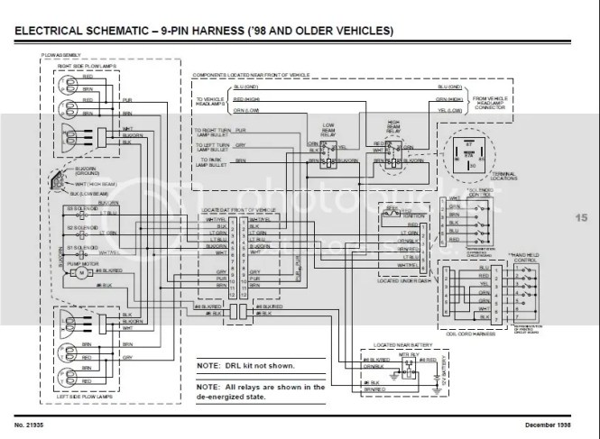 wiring diagram for minute mount 2 fisher plow. Black Bedroom Furniture Sets. Home Design Ideas