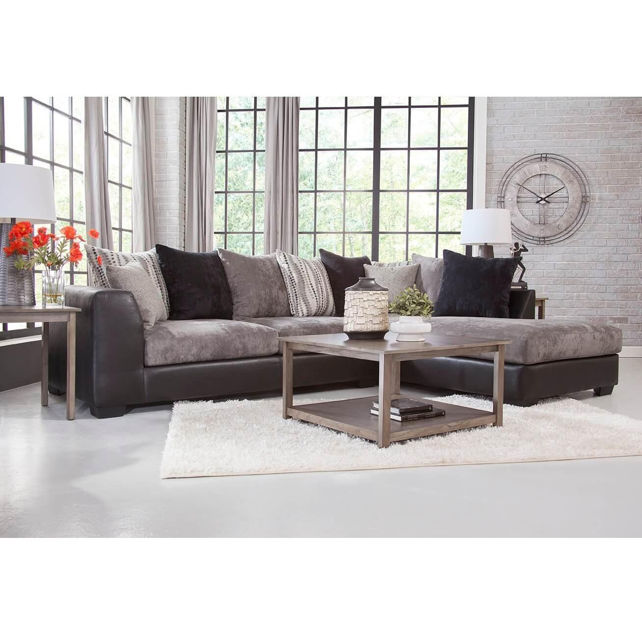 7 piece jamal chaise sofa sectional living room collection