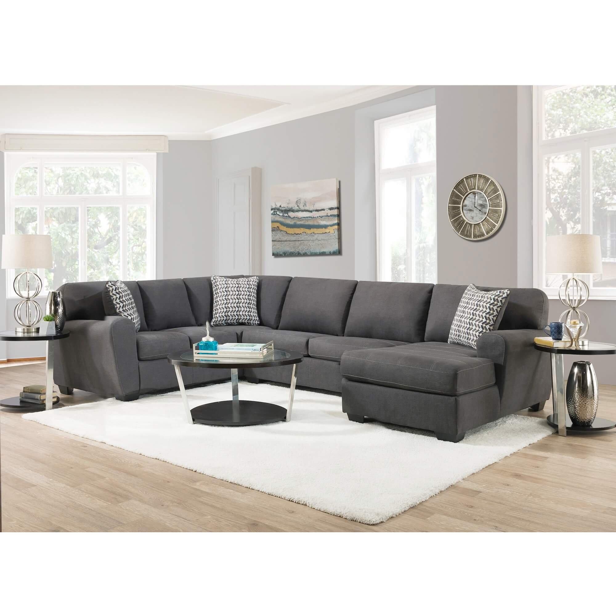 3 piece sorenton sectional living room collection