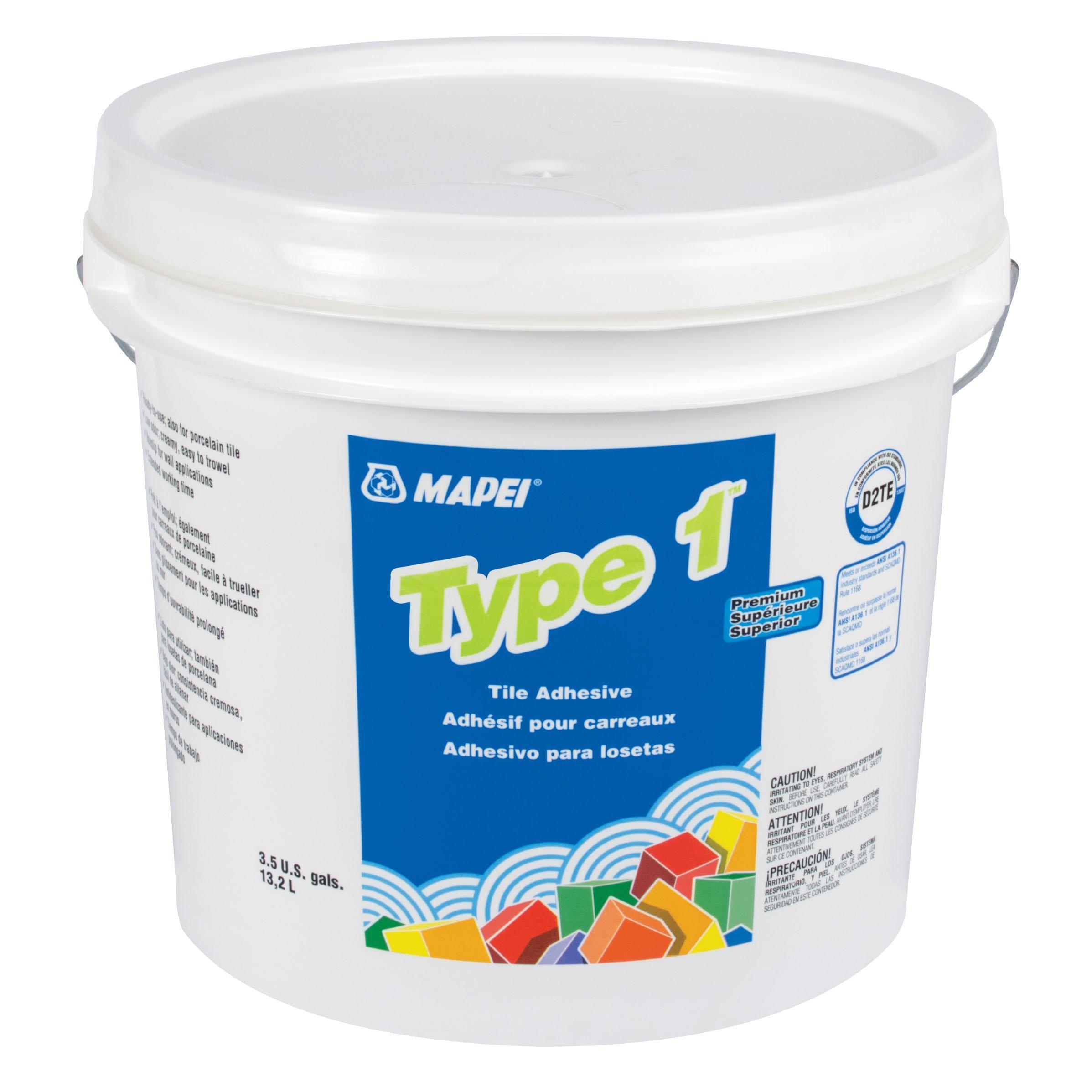 mapei type 1 white adhesive