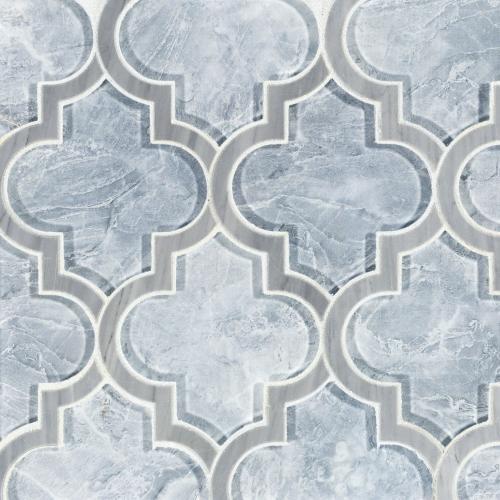 vogue arabesque glass mosaic 12 x 15