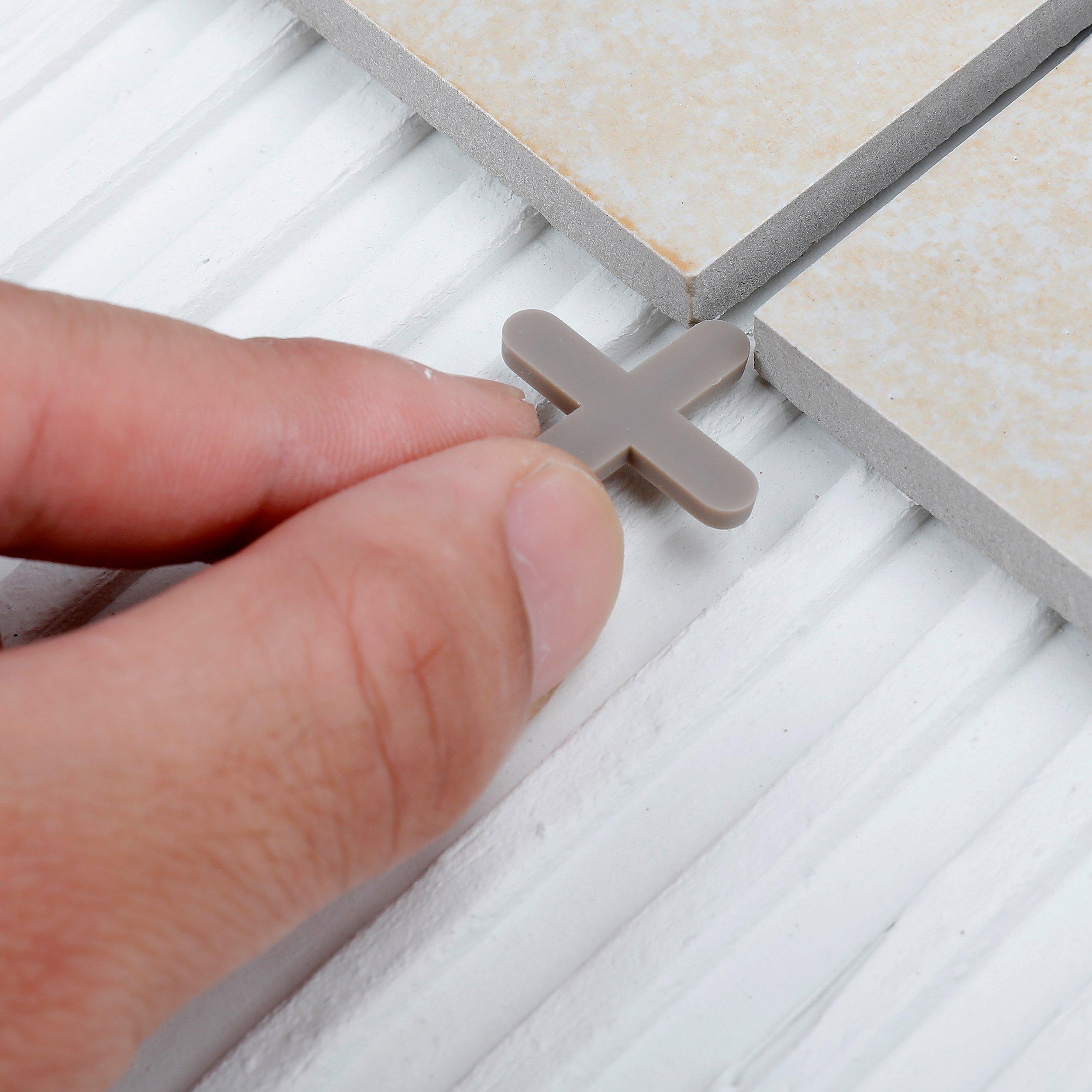 goldblatt 3 16in hard plastic tile spacers 250ct