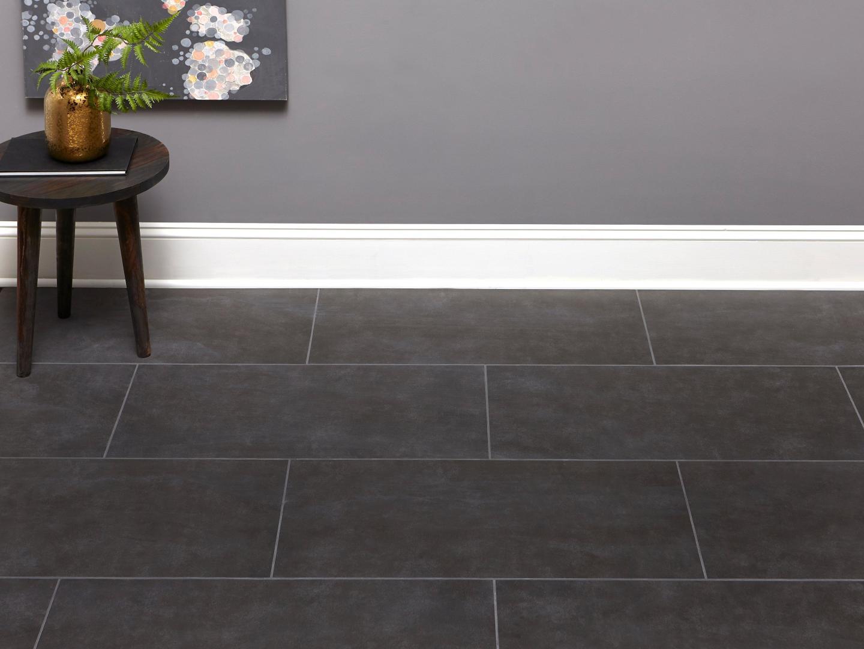 cement look tile floor decor