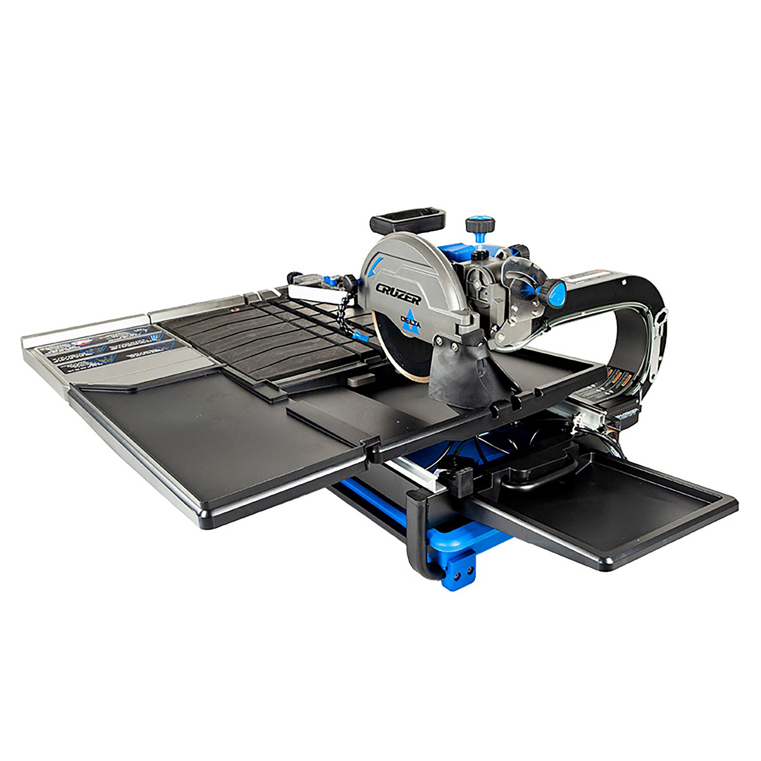 delta 10in wet tile saw with stand