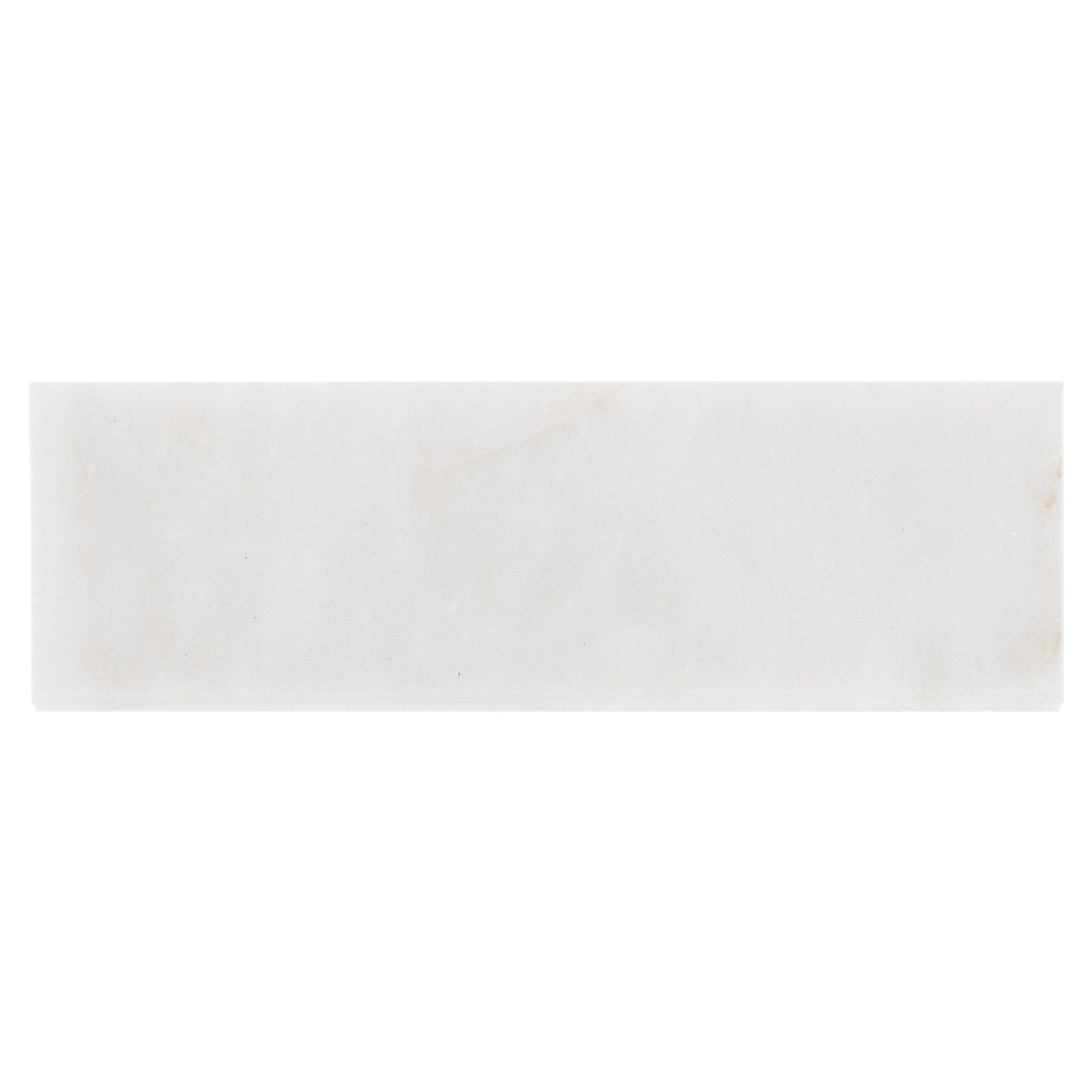 carrara white marble bullnose floor decor