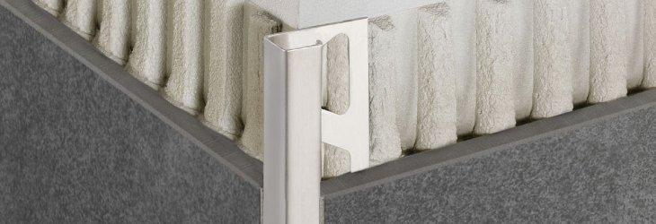 metal tile trim and tile transition