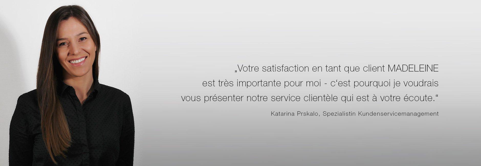 service client madeleine mode suisse