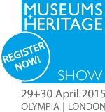Museums + Heritage Show, 29+30 April 2015