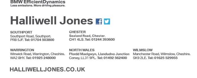 Contact us at Halliwell Jones