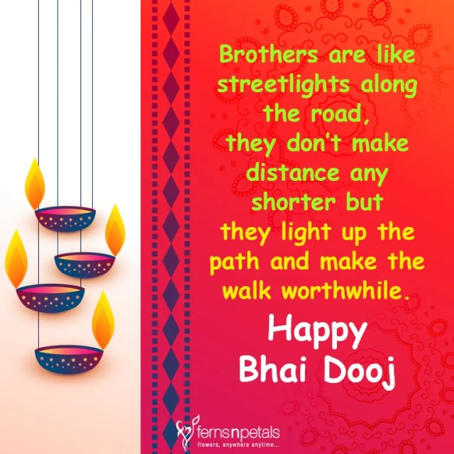 Best BHAI DOOJ Wishes, Greetings, Whatsapp Messages, Quotes, Images