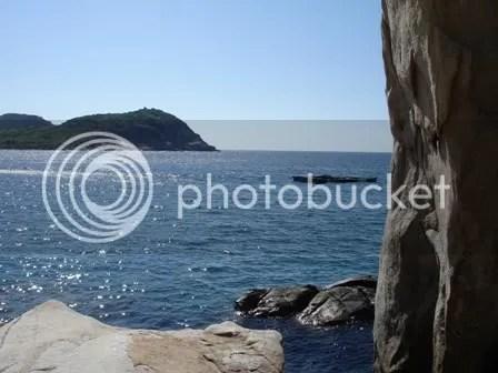 Một góc nhìn ở bãi biển Bà điên