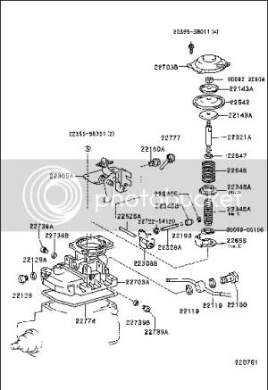 Toyota surf diesel fuel pump